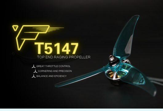 T-Motor T5147 clear blue props