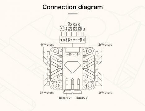T-Motor V45A 6s Blheli32 ESC
