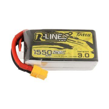 Tattu R-Line Version 3.0 1550mAh 14.8V 120C 4S1P Lipo