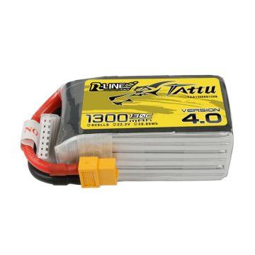 Tattu R-Line V 4.0 1300mAh 130C 22.2V 6S1P Lipo