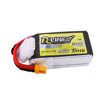 Tattu R-Line 850mAh 3S1P 95C 11.1V Lipo Battery