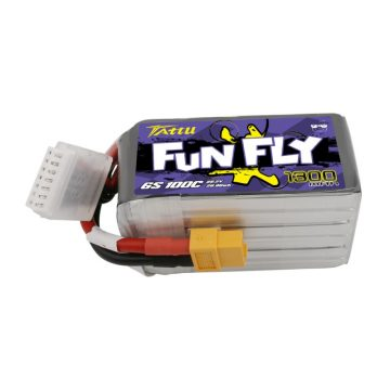 Tattu Funfly Series 1300mAh 22.2V 100C 6S1P Lipo