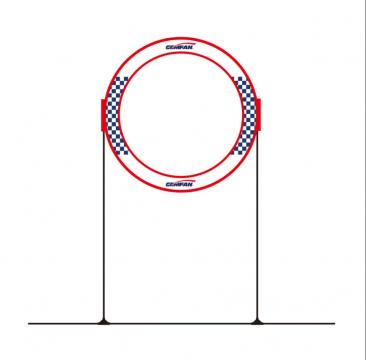 Gemfan Round Gate with 60cm stand