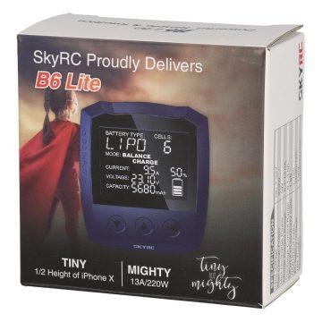 SkyRC B6 Lite DC LiPo 1-6s 13A 220W LiPo töltő