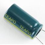 Teapo 450 uF/25V LOW ESR capacitor