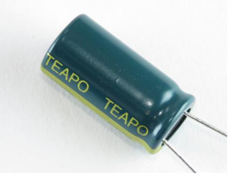 Teapo 1000 uF/25V LOW ESR capacitor